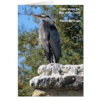 Le Grande Heron Card
