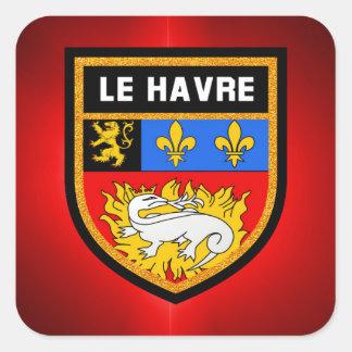 Le Havre Flag Square Sticker