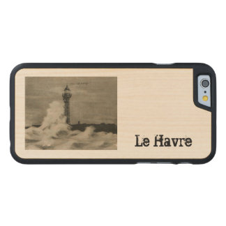 Le Havre Lighthouse 1920 replica Carved® Maple iPhone 6 Slim Case