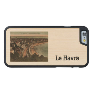 Le Havre Panorama France Postcard 1920s Carved® Maple iPhone 6 Slim Case
