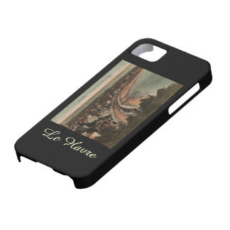 Le Havre Panorama France Postcard 1920s iPhone 5 Cases