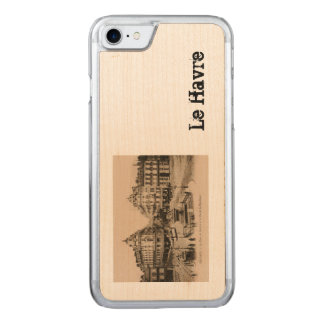Le Havre Town Centre postcard design Carved iPhone 8/7 Case