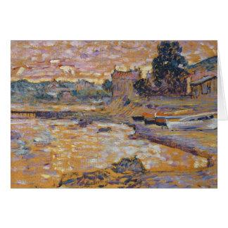 Le Lavandou, c.1908-09 (oil on canvas) Card