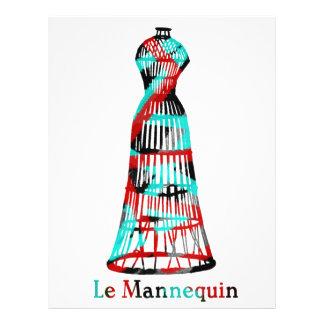 Le Mannequin 21.5 Cm X 28 Cm Flyer