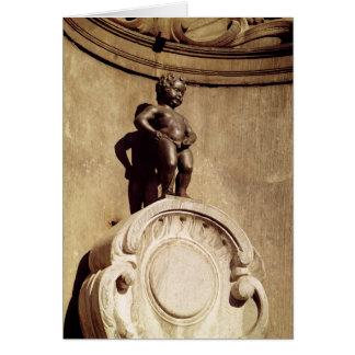 Le Mannequin Pis, 1619 Card