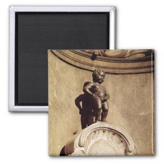 Le Mannequin Pis, 1619 Square Magnet