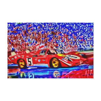 Le Mans 1970 - Jacky's 512S Canvas Print