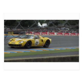 Le Mans Classic Postcard