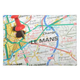 Le Mans, France Placemat