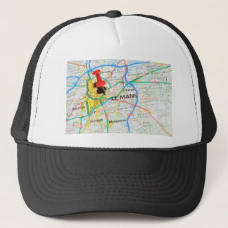 Le Mans, France Trucker Hat
