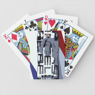 Le Mans HAT TRICK Bicycle Playing Cards