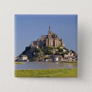 Le Mont Saint Michel in the region of 15 Cm Square Badge