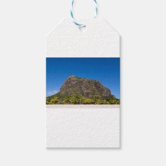 Le Morne Brabant Mauritius with blue sky