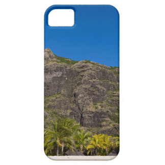Le Morne Brabant Mauritius with blue sky iPhone 5 Cover