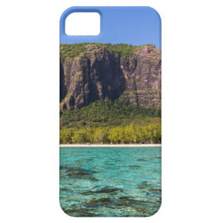 Le Morne Brabant Mauritius with sea panoramic iPhone 5 Covers