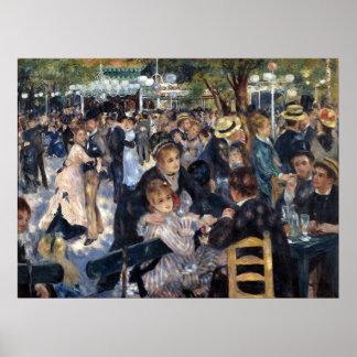 Le Moulin de la Galette by Pierre Auguste Renoir Print