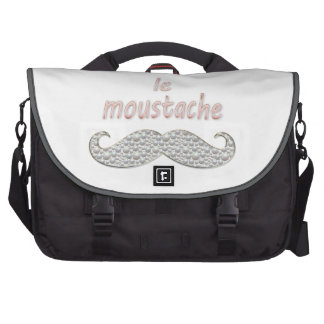 le moustache laptop commuter bag