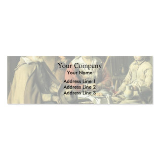 Le Nain brothers- Country interior Business Card