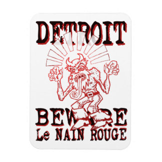 "Le Nain Rouge 3""x4"" Photo Magnet"