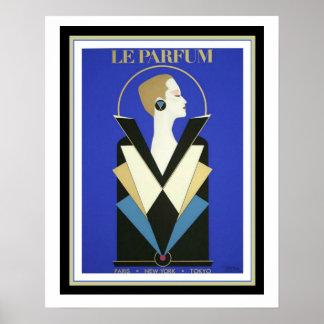 Le Parfum Art Deco  Poster 16+ x 20