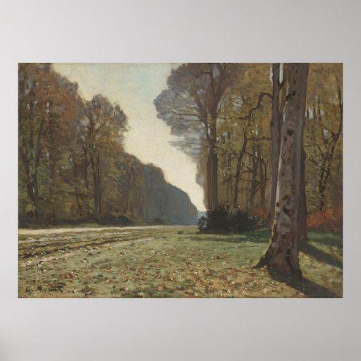 Le Pavé de Chailly (1865) 2 Canvas Posters