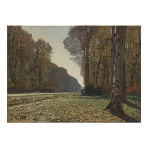 Le Pavé de Chailly (1865) 2 Print