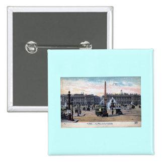 Le Place de la Concorde Paris France Vintage Pin