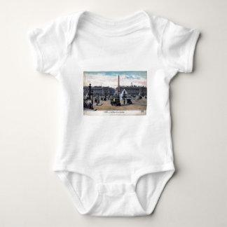 Le Place de la Concorde Paris France Vintage Tshirt