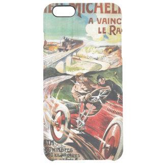 Le Pneu Michelin French Vintage Advertisment Clear iPhone 6 Plus Case
