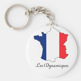 """Le porte-cle """"Les dynamiques"""" Key Ring"""
