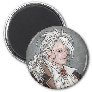 Le Portrait Du Vampire Gothic Magnet