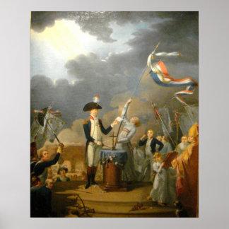 Le Serment de La Fayette Poster