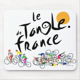 Le Tangle de France (Le Tour de France) Mouse Pad