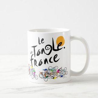 Le Tangle de France (Le Tour de France) Mug
