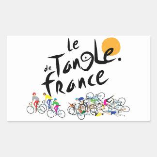 Le Tangle de France (Le Tour de France) Sticker