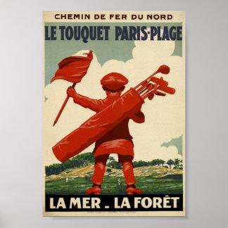 Le Touquet Paris-Plage Poster