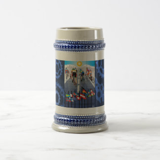 Le Tour Blue Beer Stein