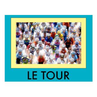 Le Tour Postcard