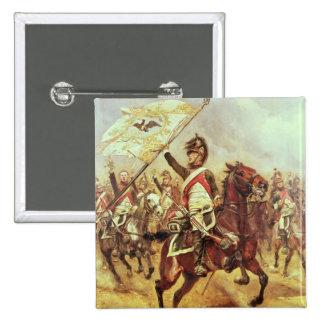 Le Trophee 1806 4th Dragoon Regiment 1898 Button