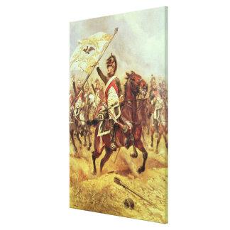 'Le Trophee', 1806, 4th Dragoon Regiment, 1898 Stretched Canvas Prints