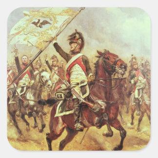 'Le Trophee', 1806, 4th Dragoon Regiment, 1898 Square Stickers