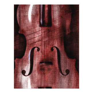 Le Violon Rouge (The Red Violin) 21.5 Cm X 28 Cm Flyer
