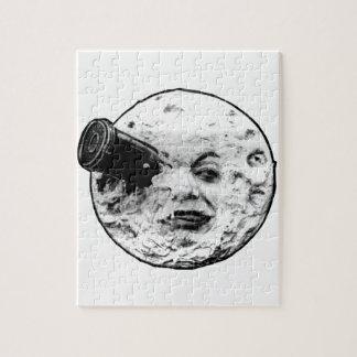 Le Voyage Dans La Lune (Face Only) Jigsaw Puzzle