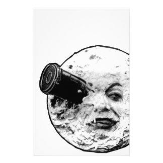 Le Voyage Dans La Lune (Face Only) Stationery