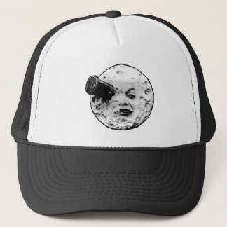 Le Voyage Dans La Lune (Face Only) Trucker Hat