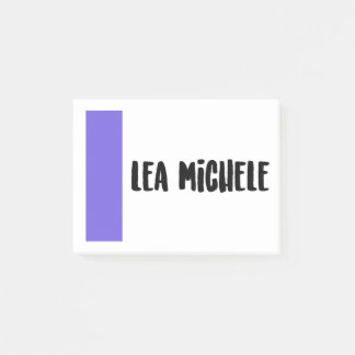 Lea Michele Post-It Notes