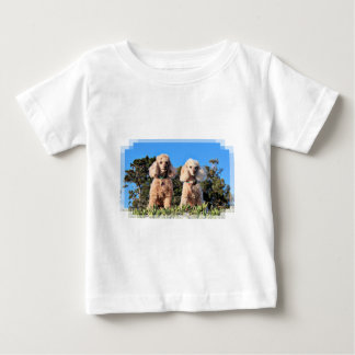 Leach - Poodles - Romeo Remy Baby T-Shirt