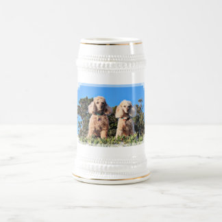 Leach - Poodles - Romeo Remy Beer Stein