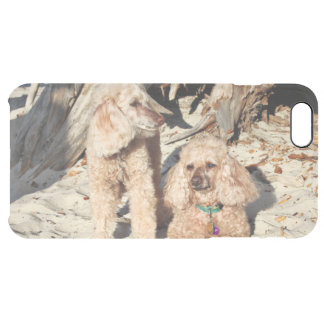 Leach - Poodles - Romeo Remy Clear iPhone 6 Plus Case