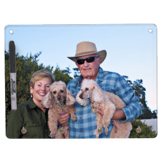 Leach - Poodles - Romeo Remy Dry Erase Board With Key Ring Holder
